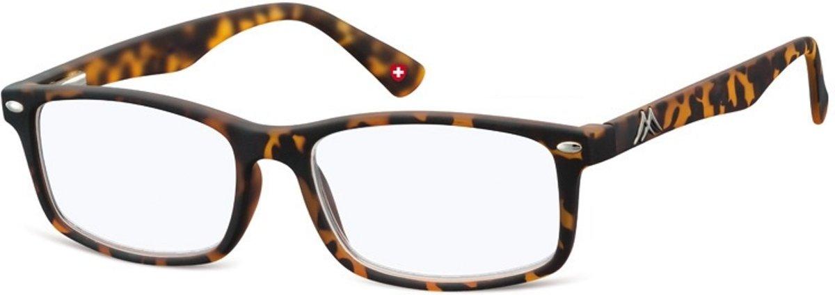 Montana Leesbril Blauwlichtfilter Bruin Sterkte +1,50 (blfbox83a) kopen