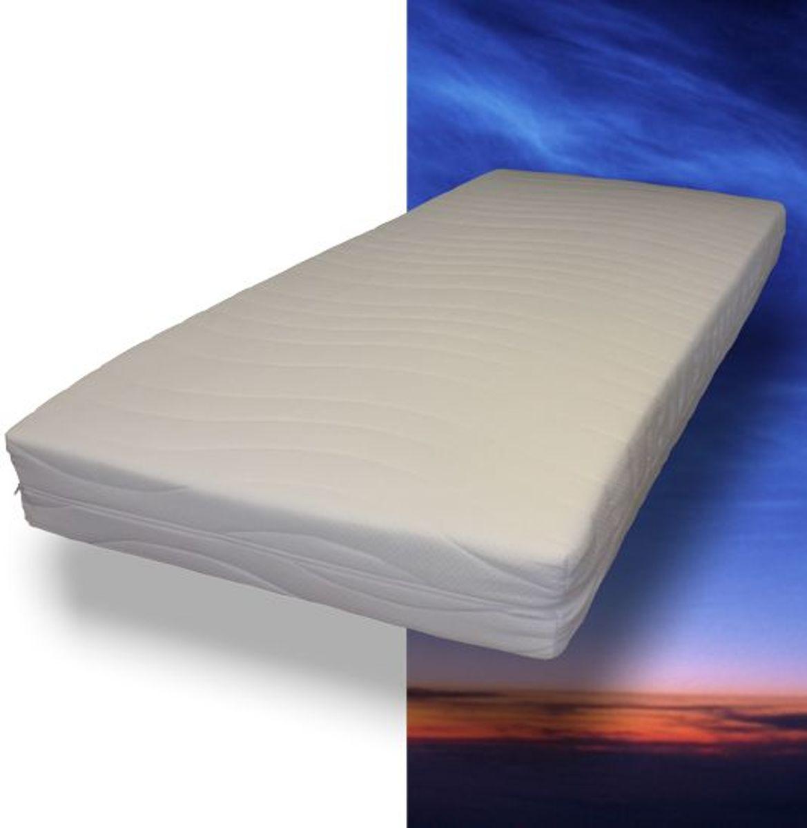 MAH - Pocketvering matras met koudschuim - 130 x 200 x 21 cm - Medium