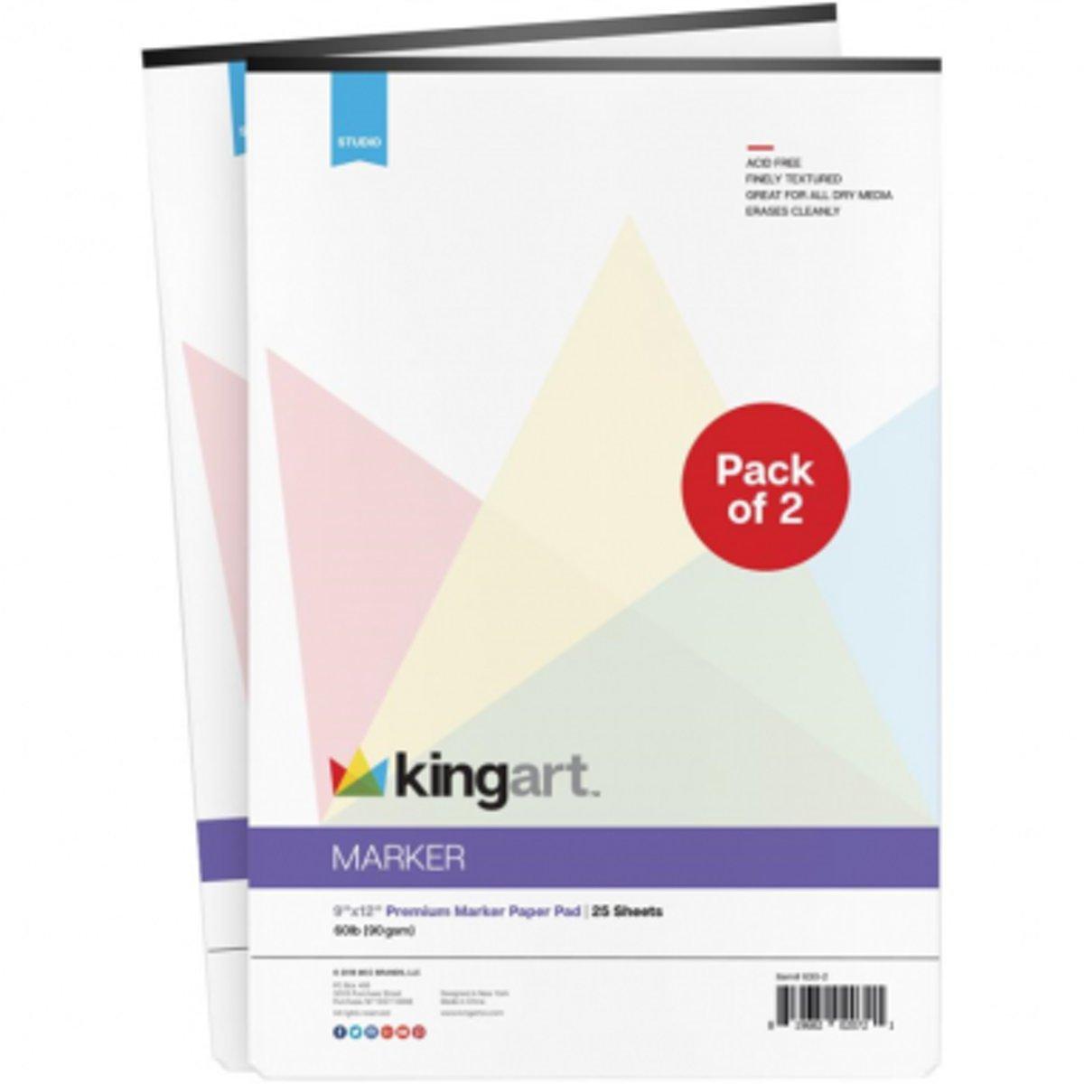 KingArt Marker Tekenblok 2-Pack kopen