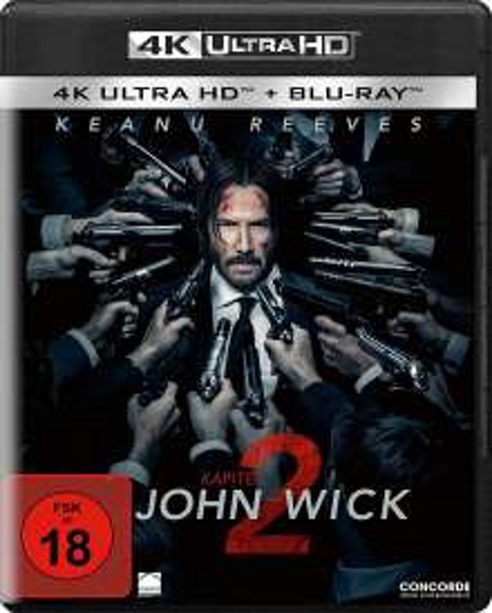John Wick: Kapitel 2 (Ultra HD Blu-ray & Blu-ray)-