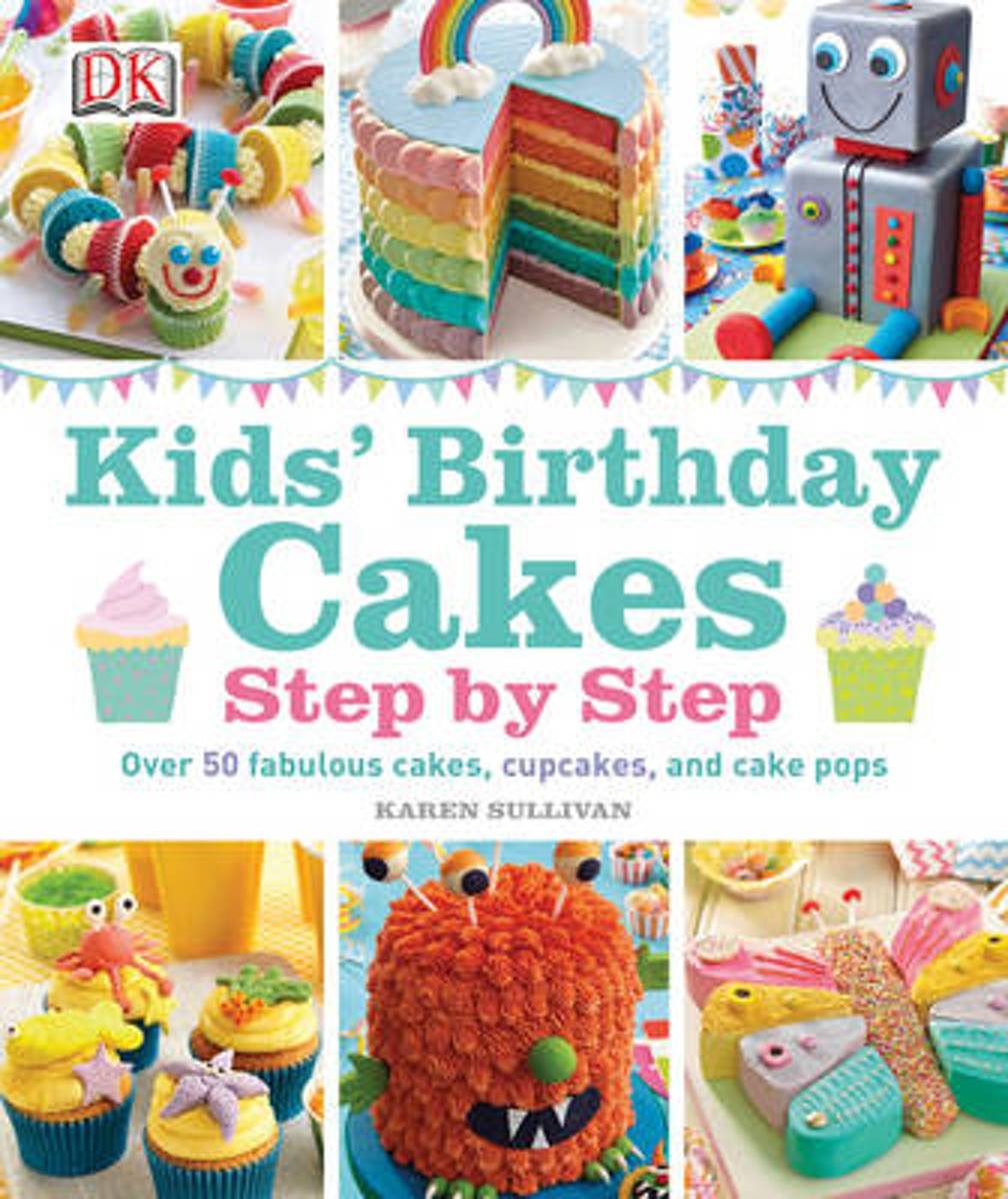 Magnificent Bol Com Kids Birthday Cakes Karen Sullivan 9781409357193 Personalised Birthday Cards Paralily Jamesorg