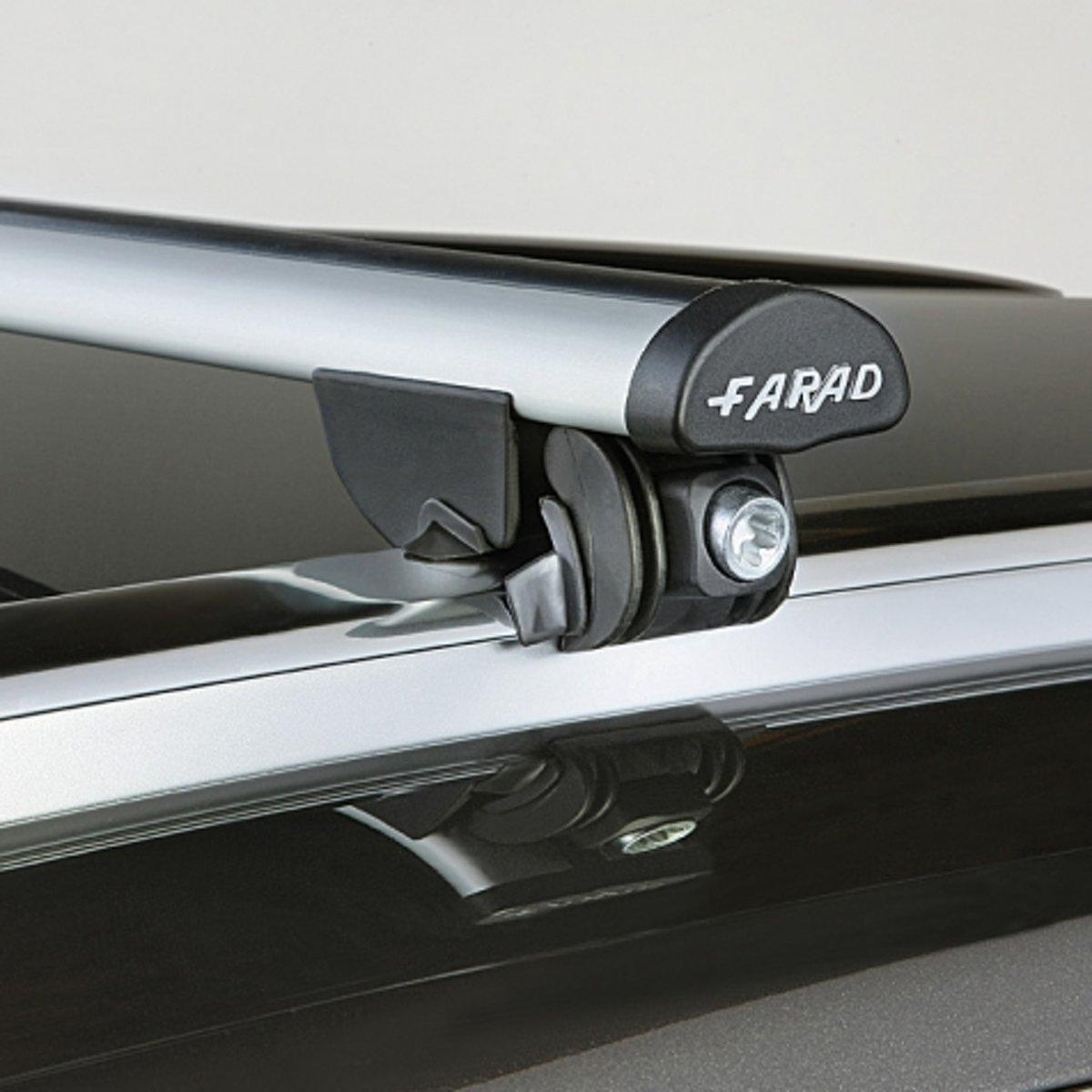 Faradbox dakdragers Mitsubishi Outlander (PHEV) 2013 (ook model na 2015) gesloten dakrail, 100kg laadvermogen kopen