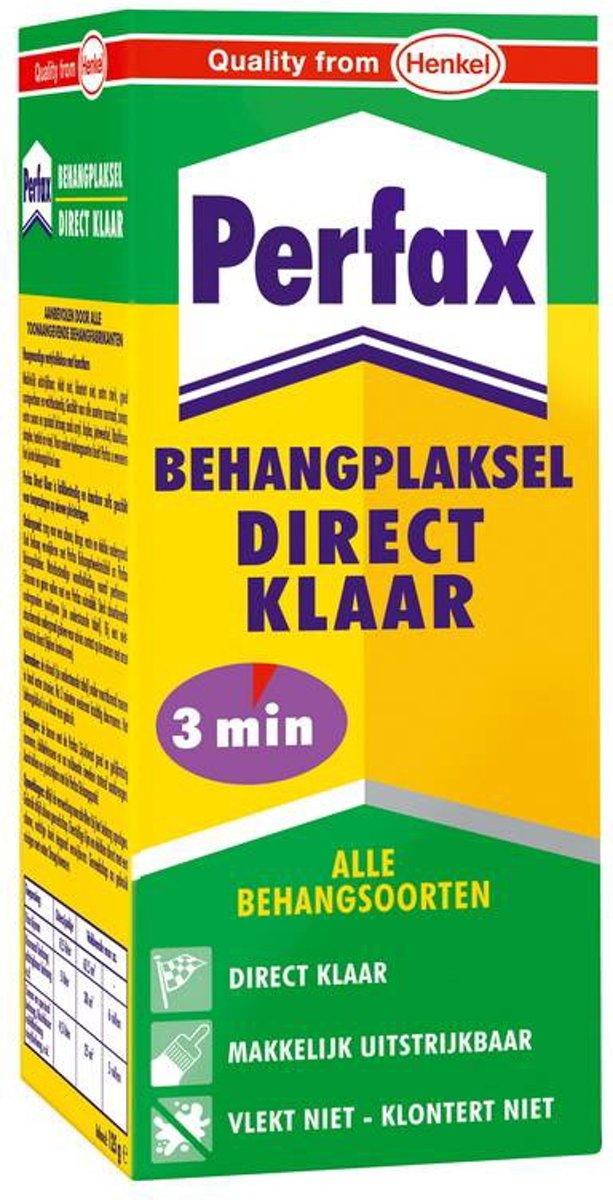 Perfax Metyl Direct Klaar Behanglijm Behangpoeder Behangplaksel - 200 Gram - Wit kopen