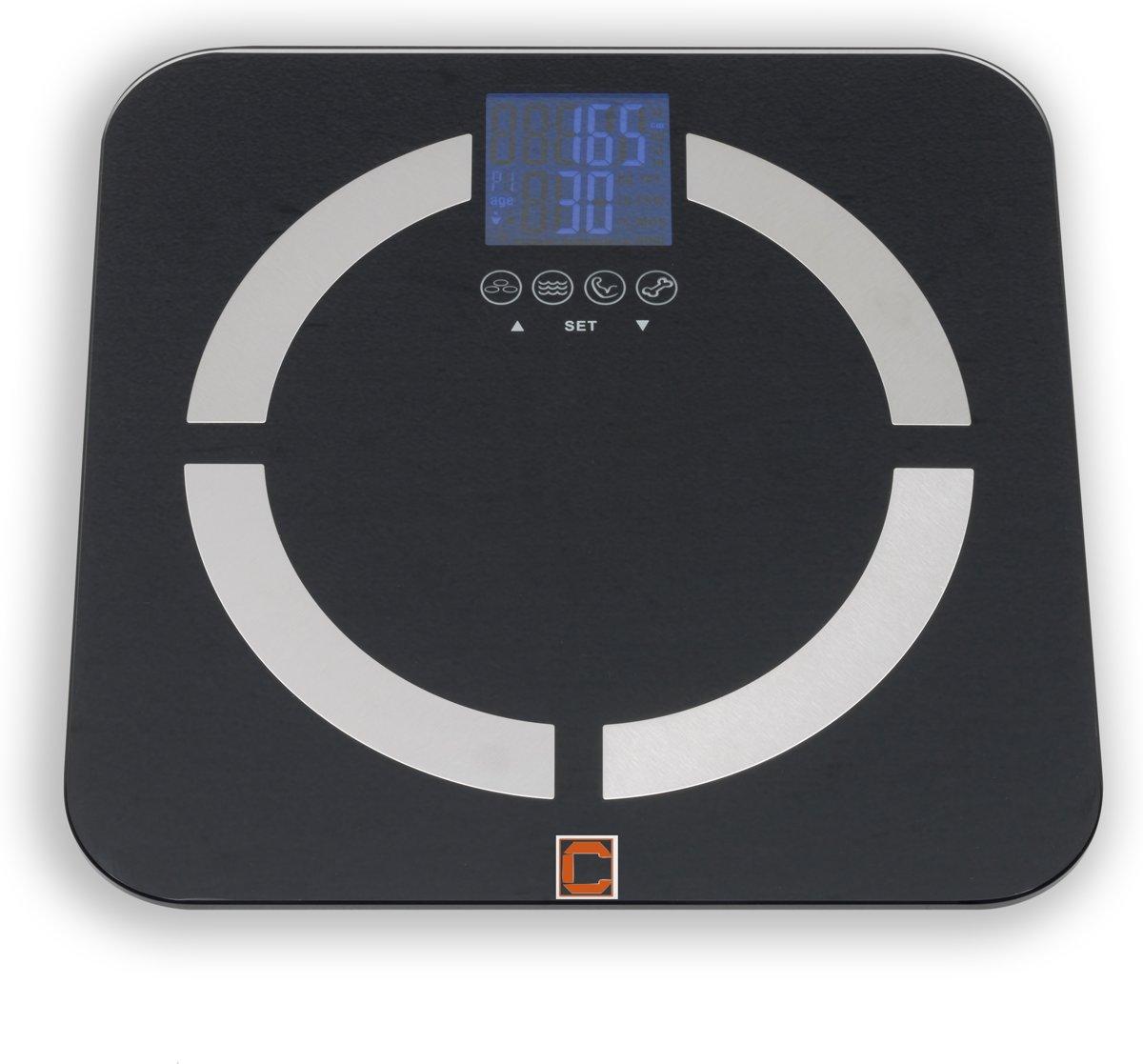 CRESTA CBS350 180KGS - Personenweegschaal met lichaam & BMI analyze