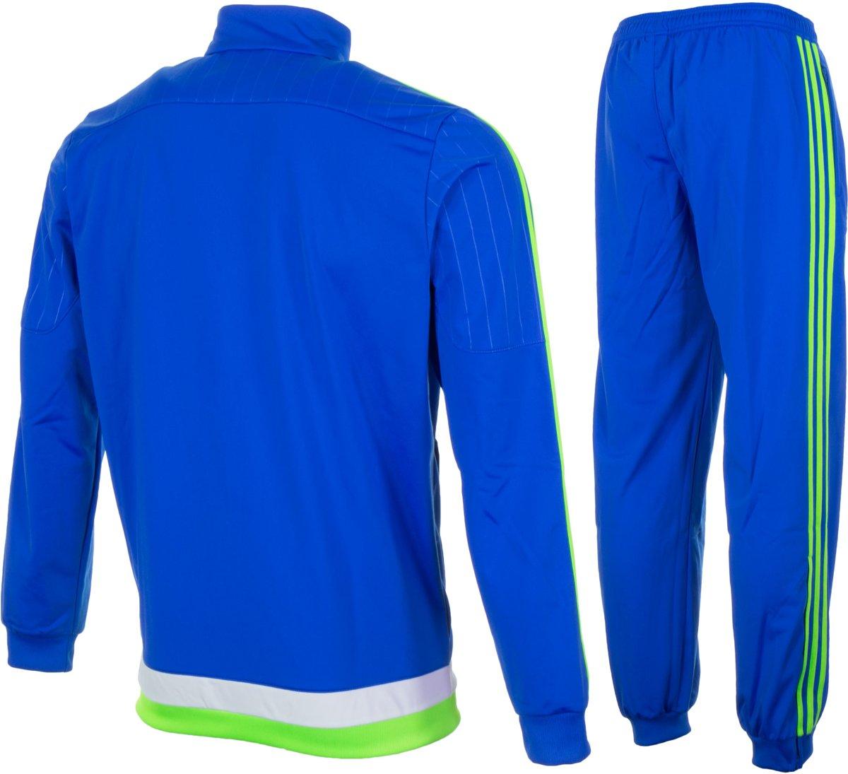 adidas Ajax Trainingspak Trainingspak - Maat XL - Mannen - blauw/groen/wit