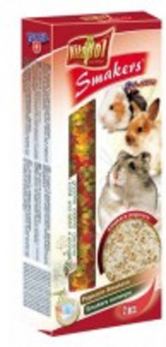 Vitapol knaagdierkracker popcorn 10 x 2 stuks