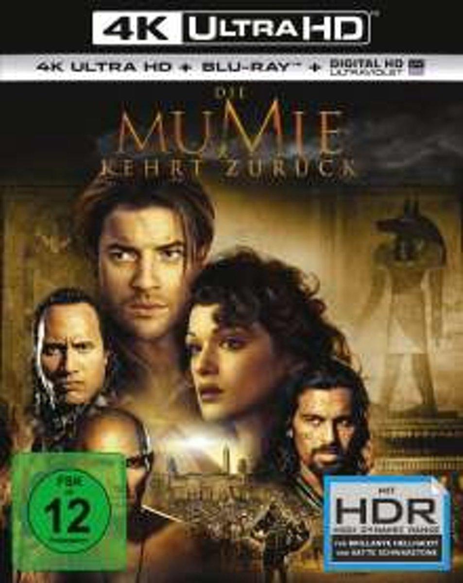 The Mummy Returns (2001) (Ultra HD Blu-ray & Blu-ray)-