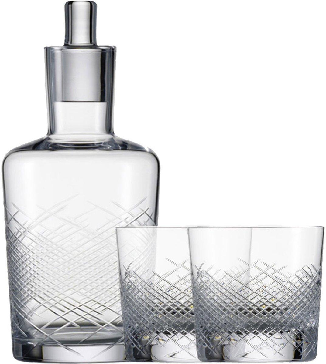 Zwiesel 1872 Hommage Comète Whisky set - 2 glazen + 1 karaf kopen