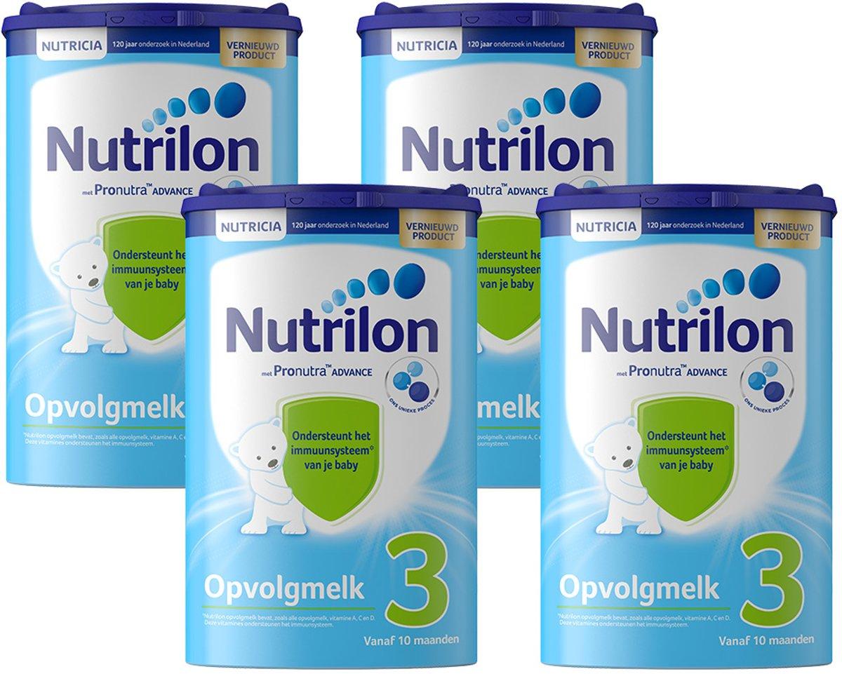 Nutrilon Opvolgmelk 3 met Pronutra -  Flesvoeding - 4 x 800 gram kopen