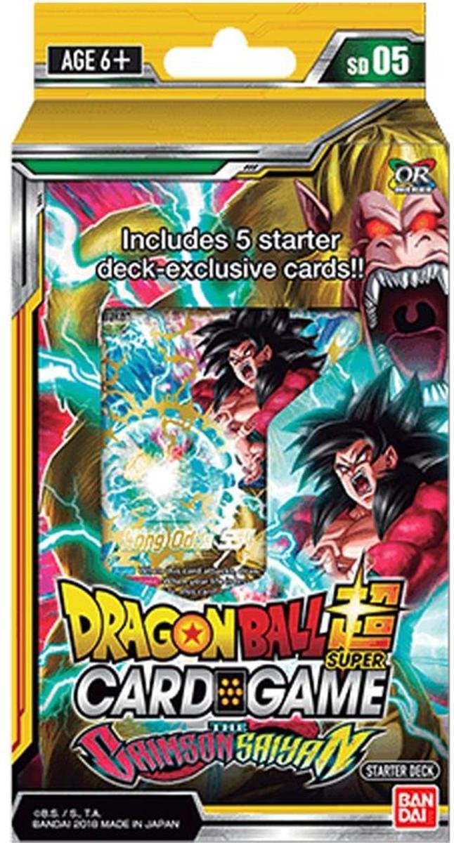 Dragon Ball Super TCG set 5 The Crimson Saiyan Starter Deck kopen