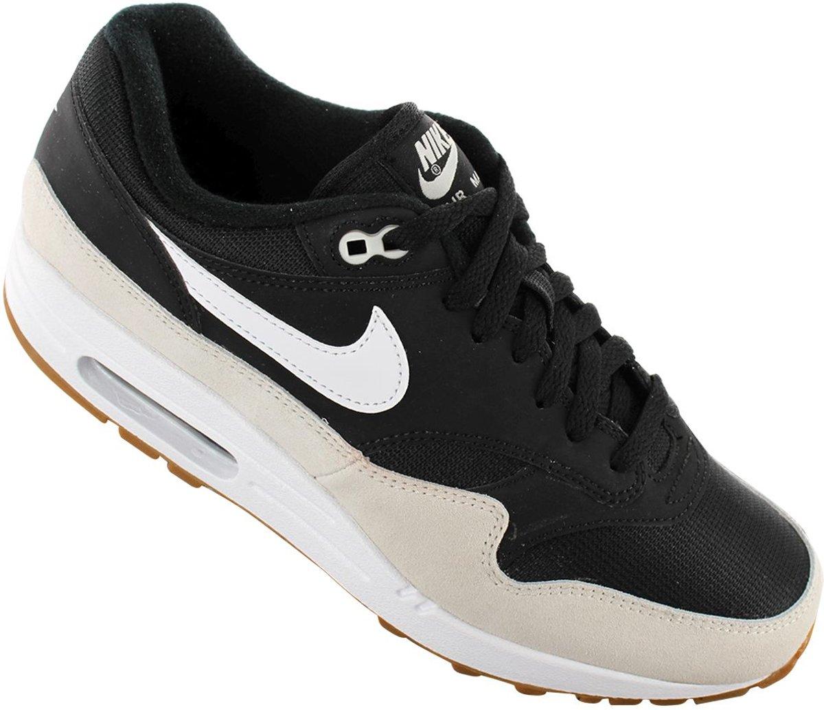 Nike Air Max 1 Zwart Wit Heren Sneakers AH8145 009 Maat 40.5