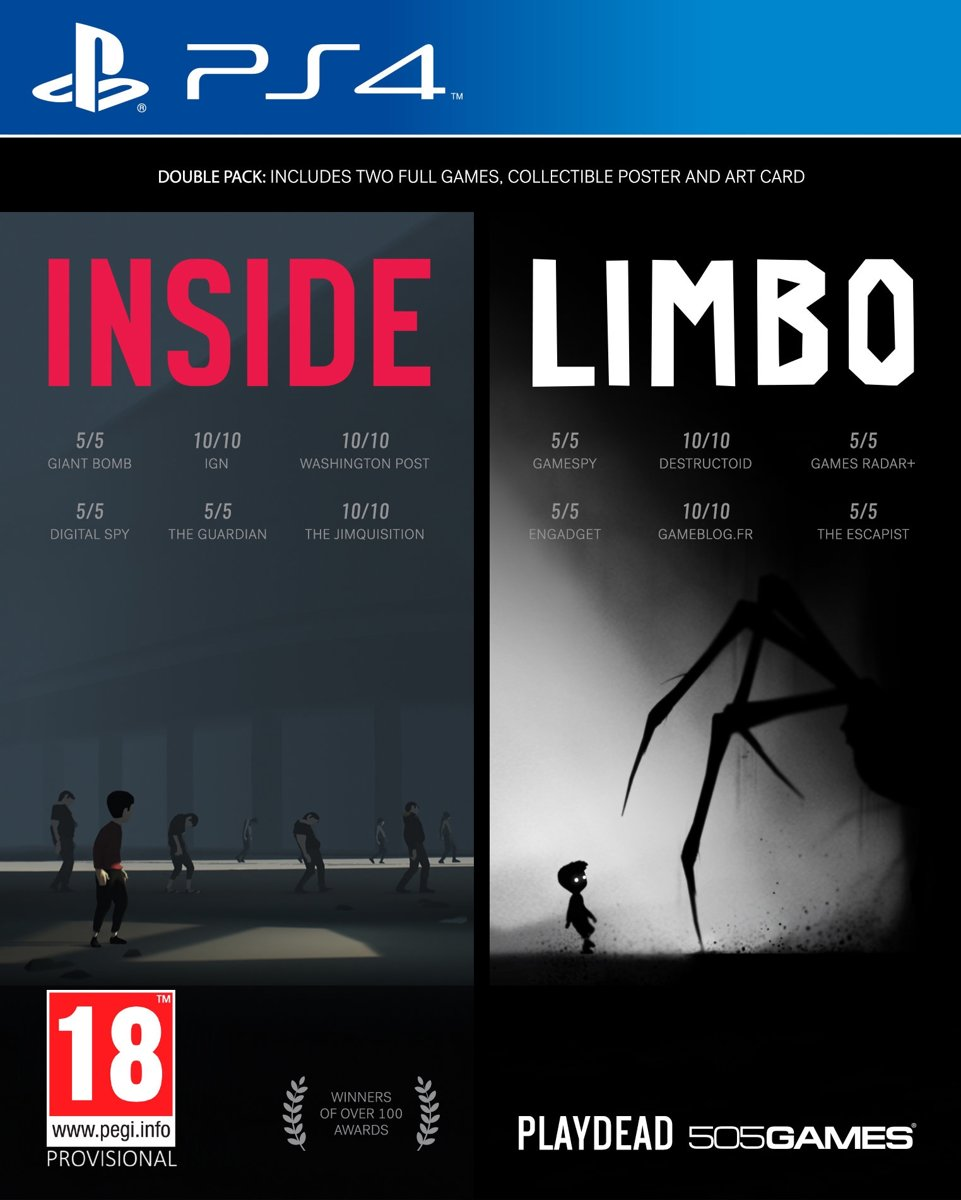 Inside - Limbo (Double Pack) PlayStation 4