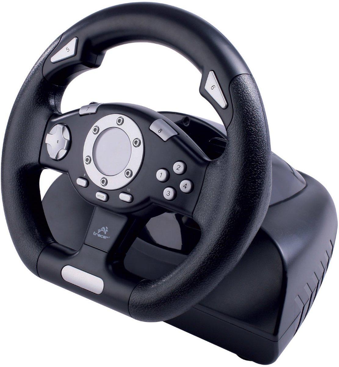 Tracer - PC Gaming Stuurwiel Sierra - Met een racegame kopen