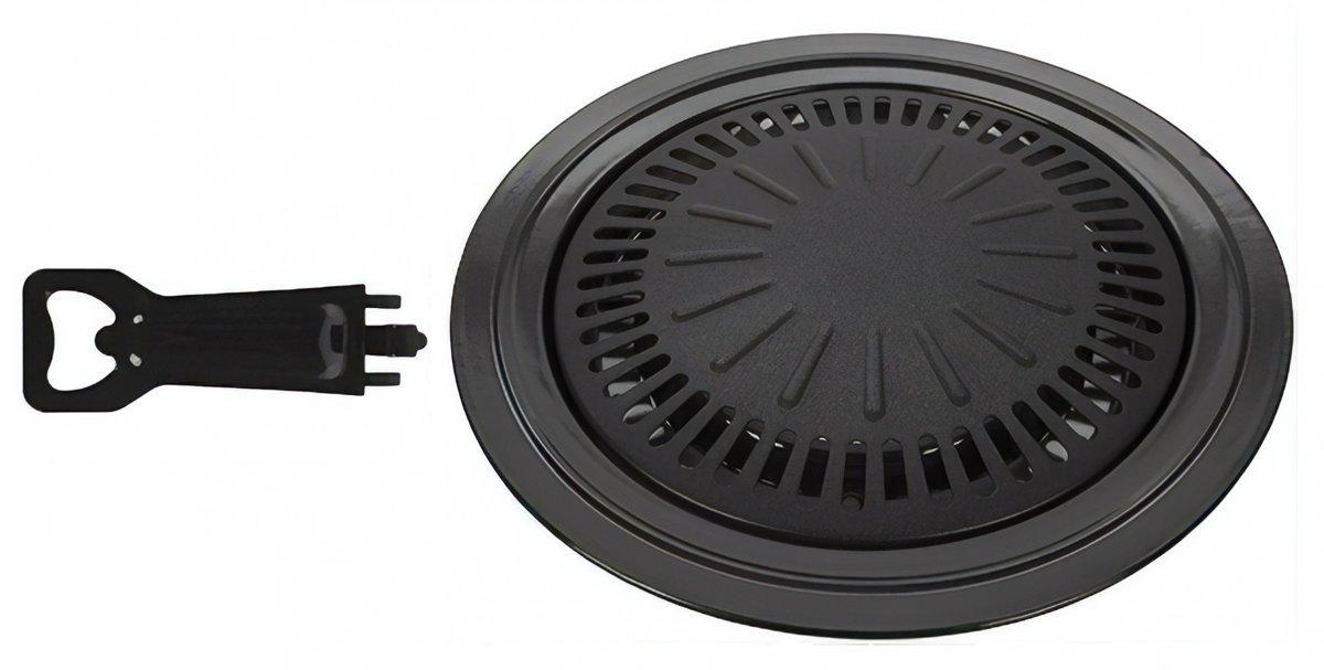 Summit Non-stick Korean Bbq-grill Aluminium 38 Cm Zwart kopen