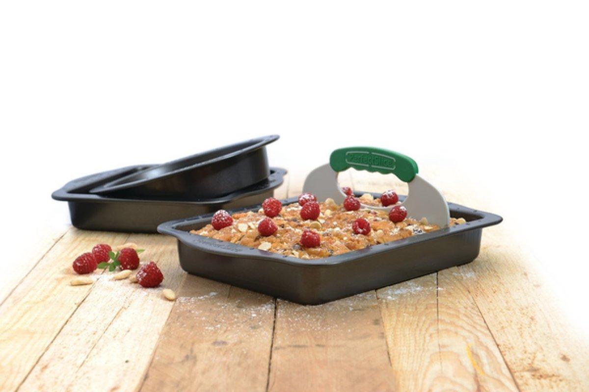 Perfect Slice 3-delige bakset met snijhulp kopen