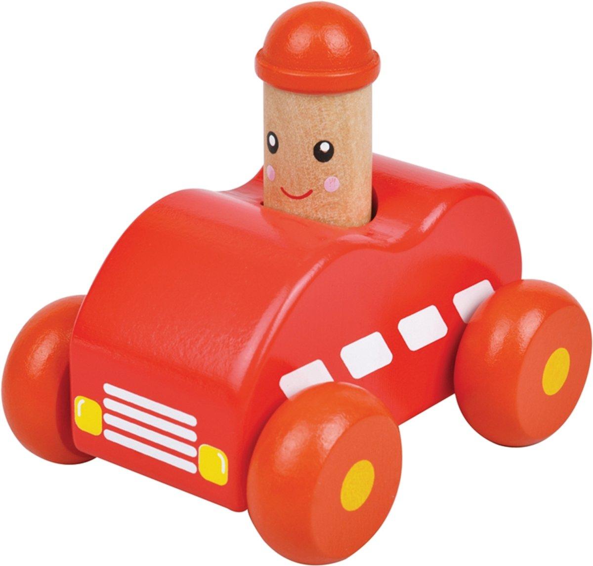 Lelin Toys - Squeaky Auto - Rood