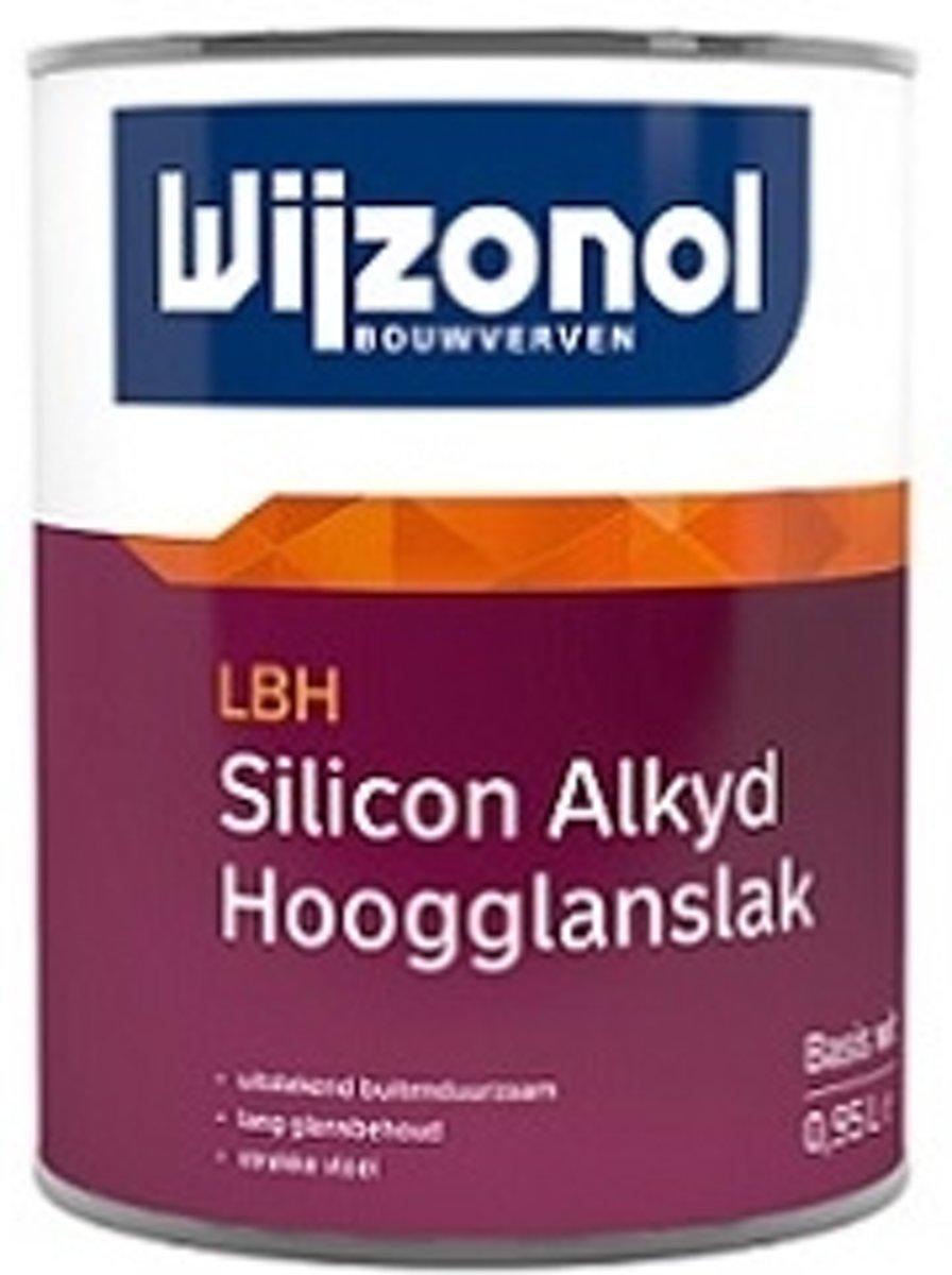 Wijzonol LBH Silicon Alkyd Hoogglanslak N0.15.10 Monumentengroen 500 ml kopen