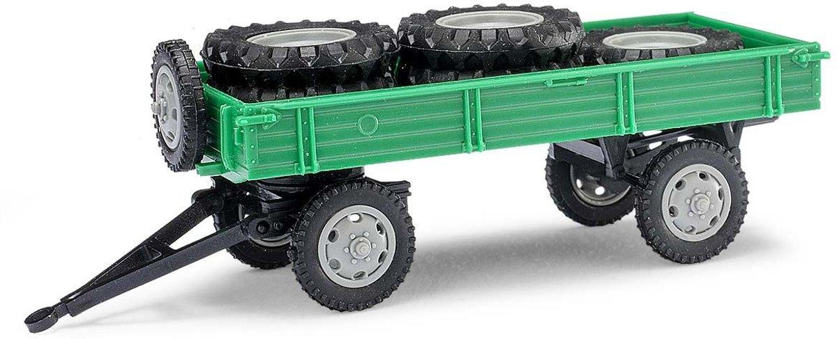 Busch - Anhänger T4 M.ladung Grün (Mh010202)
