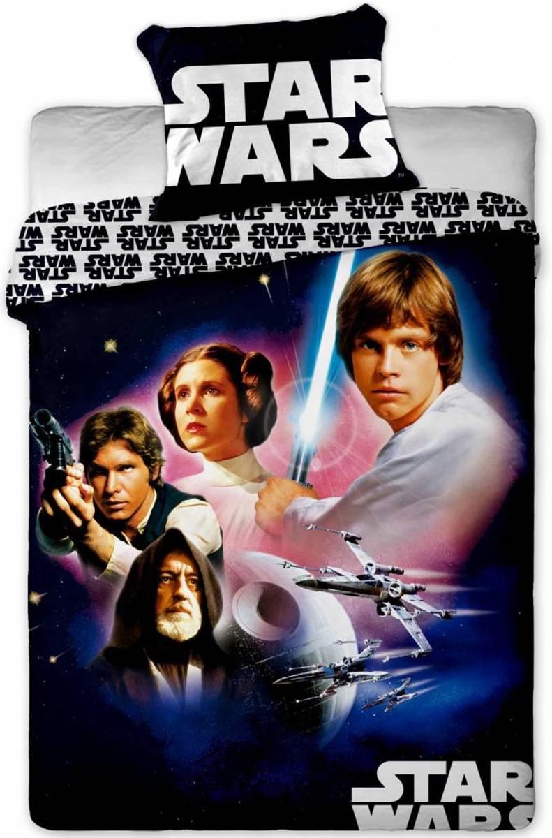 Star Wars One - Dekbedovertrek - Eenpersoons - 140 x 200 cm - Zwart/multi kopen