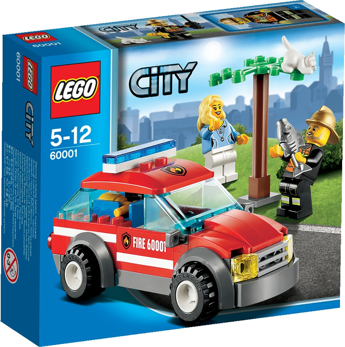 Lego Speed Champions Audi R8 Lms Ultra 75873 City Brandweercommandant 60001