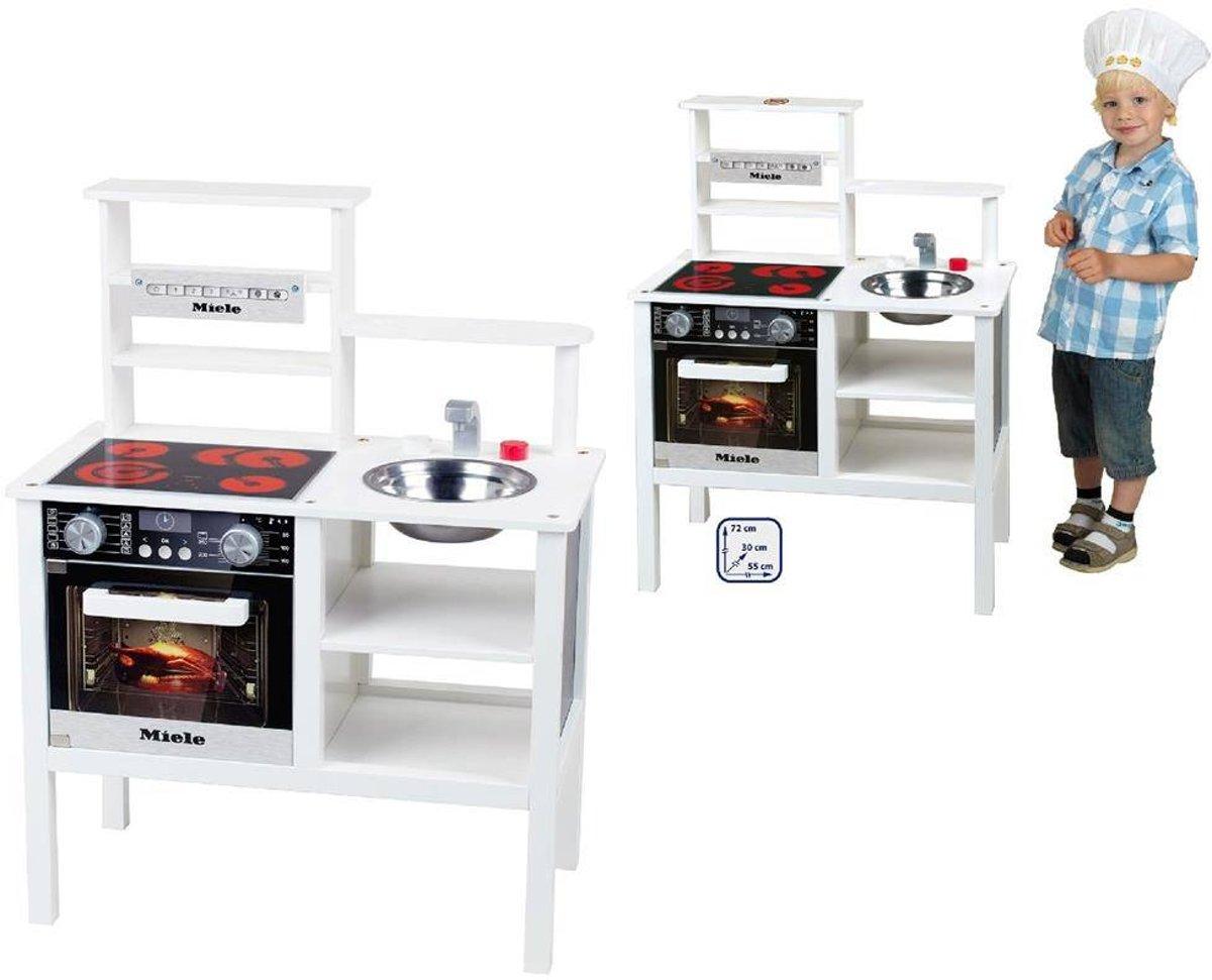Houten Speelgoed Keuken : Bol.com miele houten speelgoedkeuken theo klein speelgoed