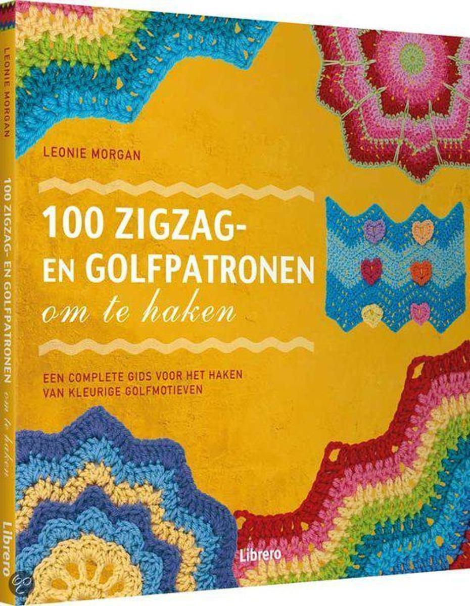 Bolcom 100 Zigzag En Golfpatronen Om Te Haken Leonie Morgan