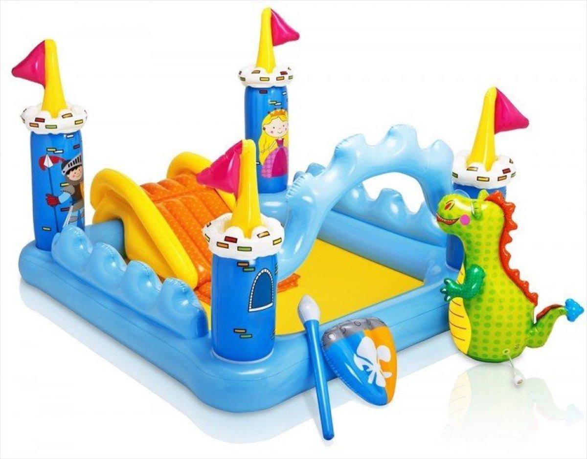 Intex speelzwembad 'Het Kasteel' (met reparatiesetje)