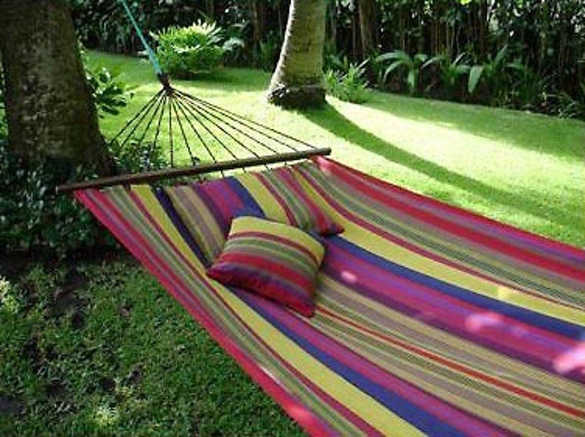 Hangmat Belize met spreidstok 83 cm
