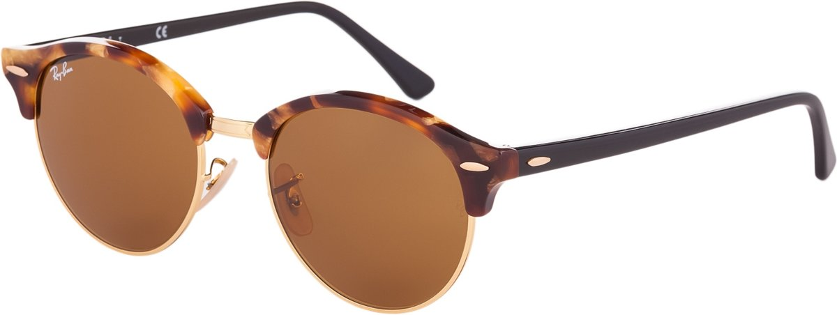 Ray-Ban Clubround RB4246 1160 - Zonnebril - Bruin - 51 mm kopen