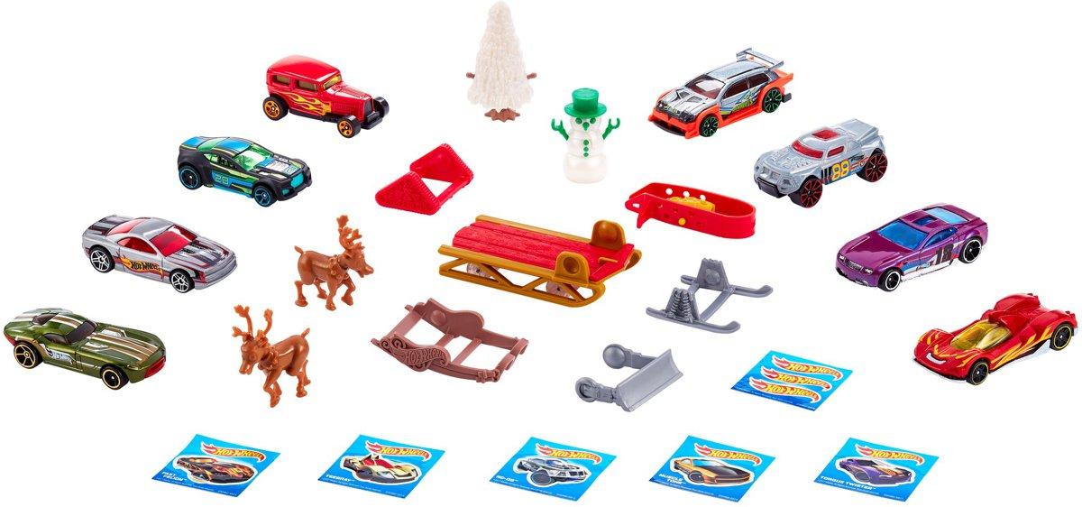 Weihnachtskalender Hot Wheels.Hot Wheels Adventskalender Met Auto S En Accessoires