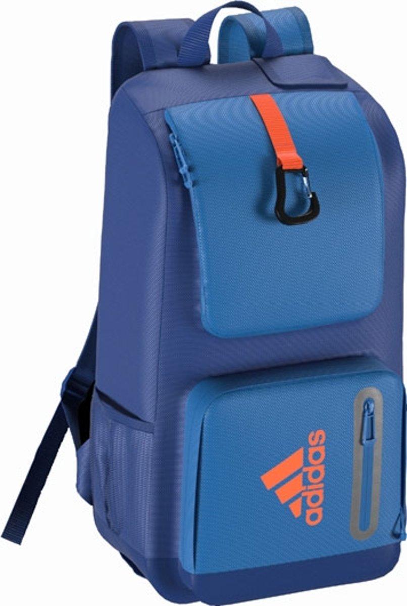 Adidas backpack - Hockeystickrugzak - Blauw combi - Kinderen en volwassenen kopen
