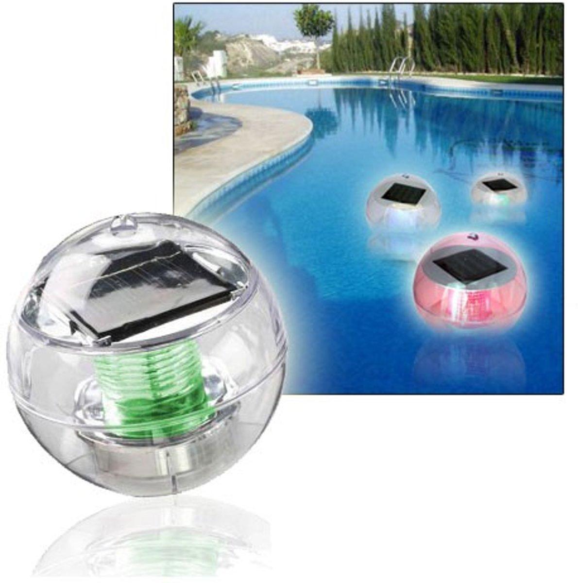 United Entertainment - Drijvende Solar Verlichting - Zwembadverlichting