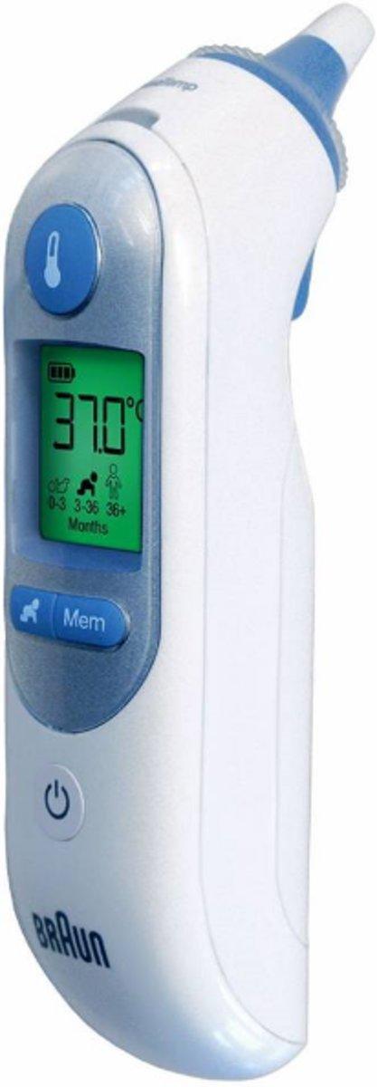 Braun ThermoScan 7 IRT 6520 - Lichaamsthermometer - Braun