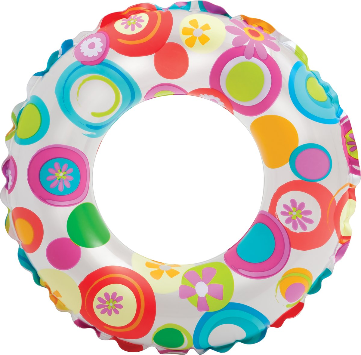 Intex Lively zwemring 51 cm cirkels