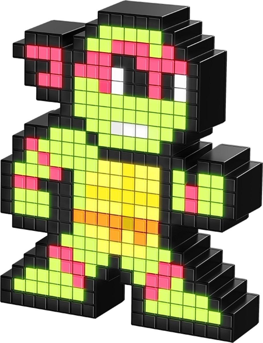 Pixel Pals - Lichtfiguur - TMNT - Raphael - #033