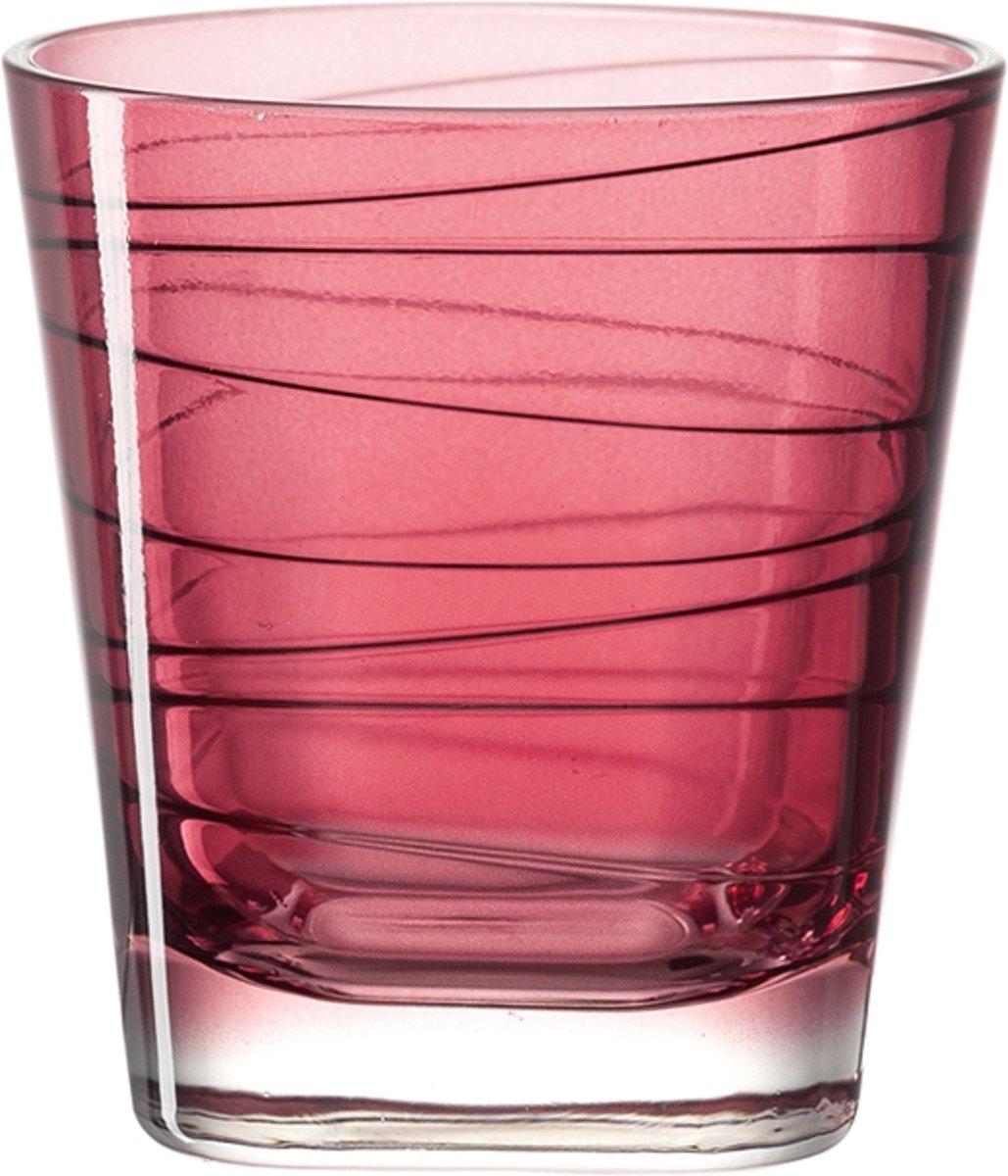 Leonardo Vario - whiskeyglas - rood - 6 stuks kopen