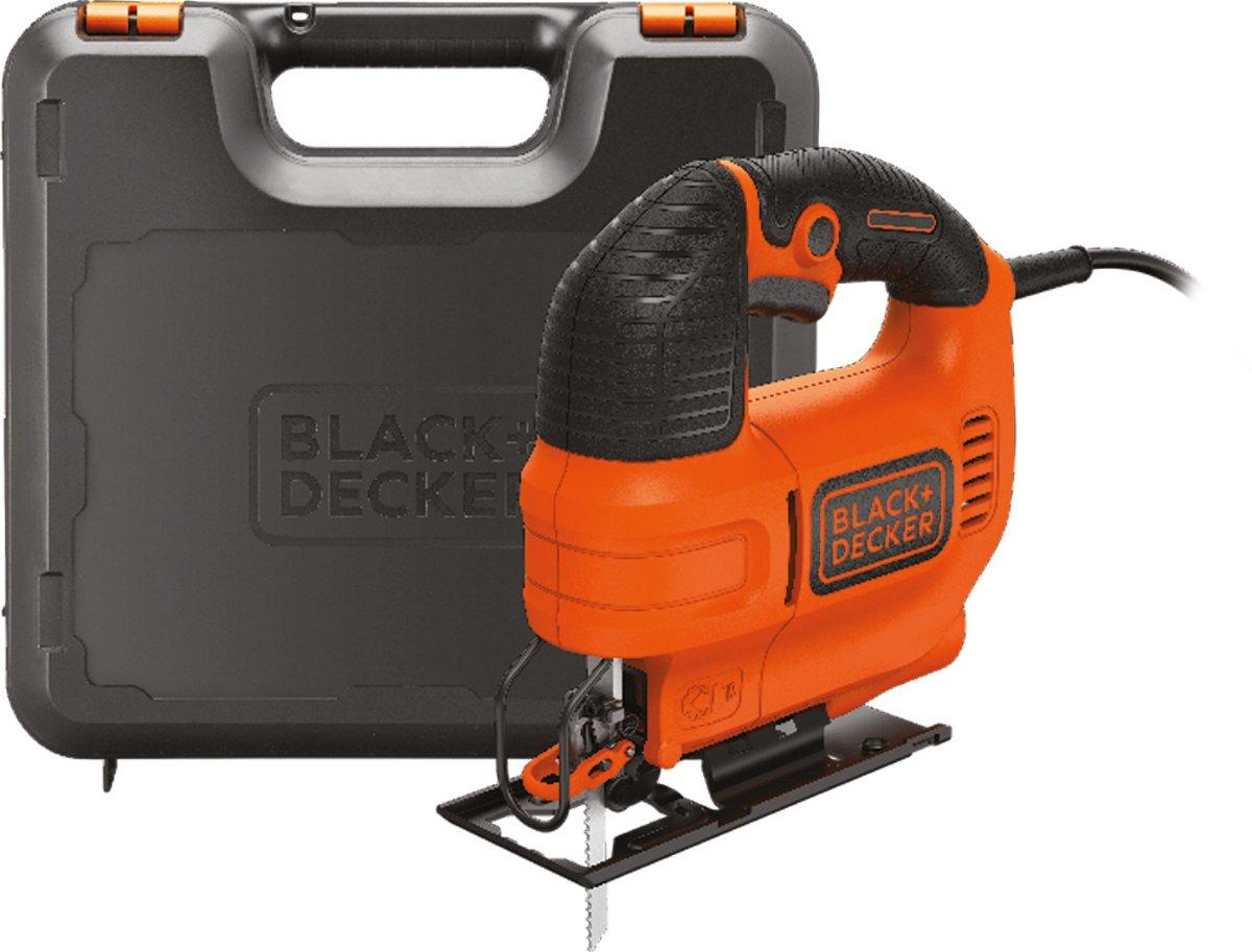 BLACK+DECKER - KS701EK-QS - 520W Compacte decoupeermachine met koffer