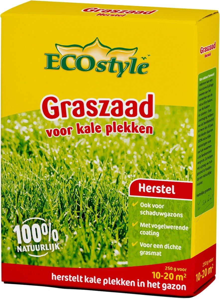 ECOstyle Graszaad-Extra - 250 g - doorzaaien kale plekken - voor 10 tot 20 m2 kopen