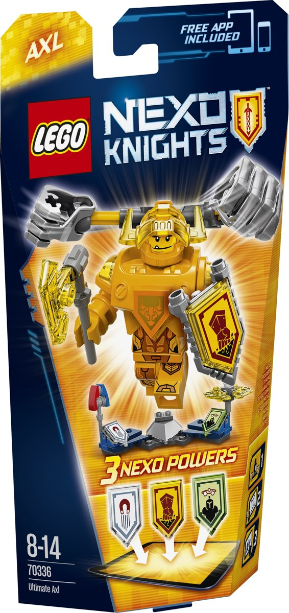 LEGO NEXO KNIGHTS Ultimate Axl - 70336