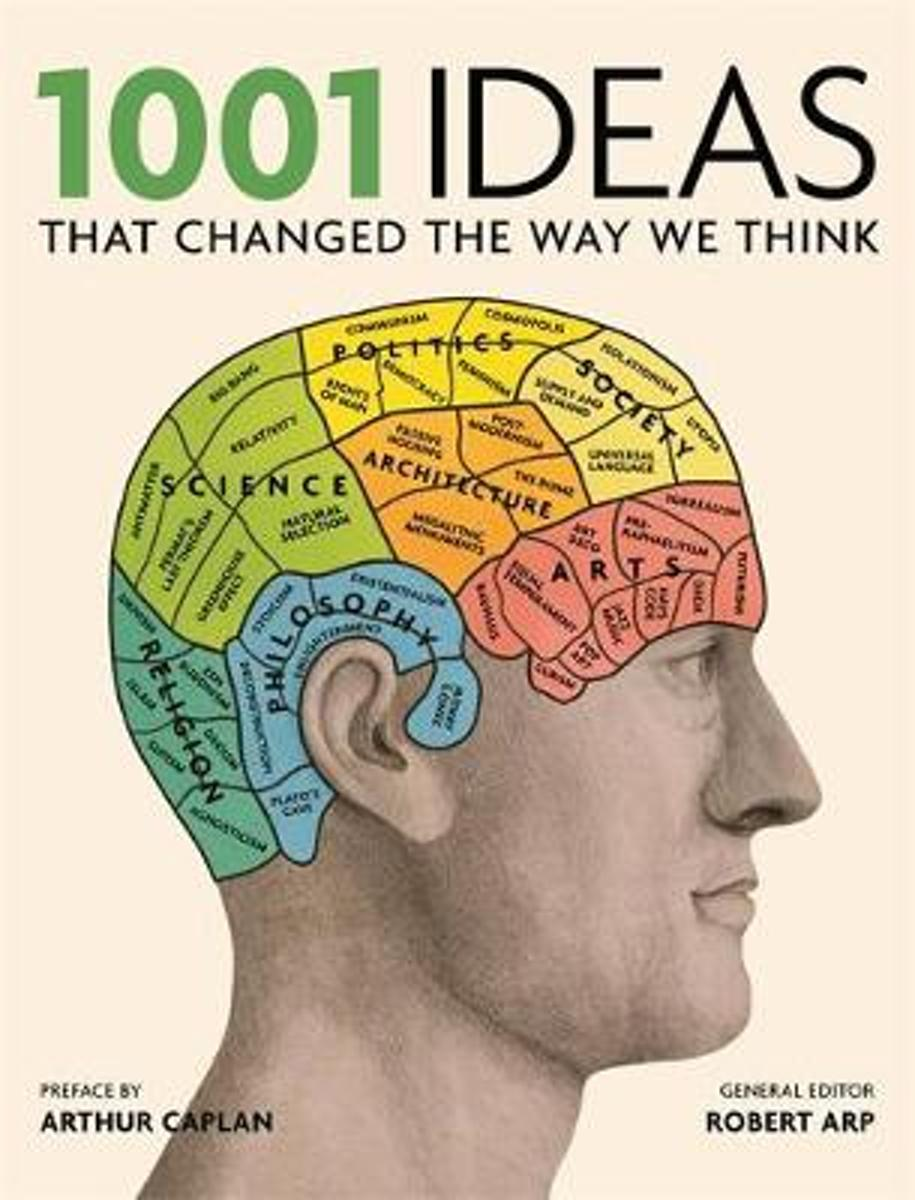 bol.com | 1001: Ideas that Changed the Way We Think, Robert Arp |  9781844037506 | Boeken