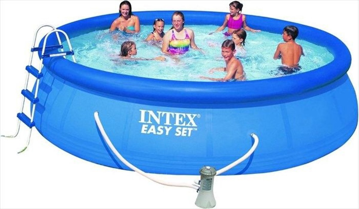Intex Easy Set Pool Zwembad - 457 x 107 cm