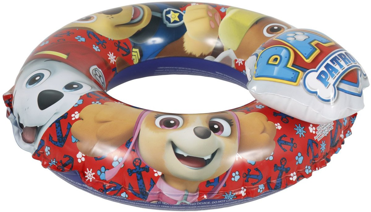 Zwemband / Zwemring Paw Patrol 3D Rood Nick Jr.
