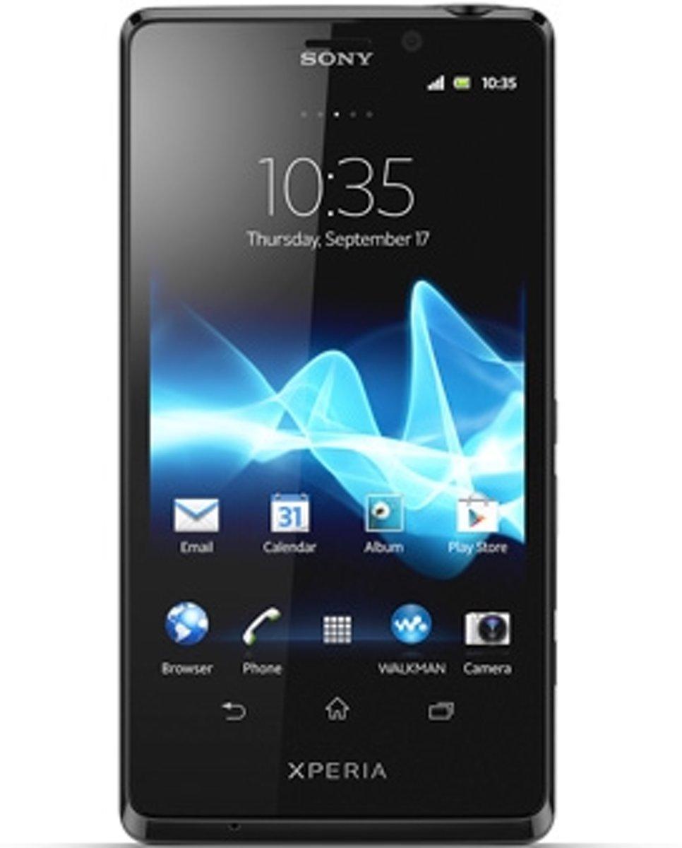 Sony Xperia T - 16GB - Zwart kopen