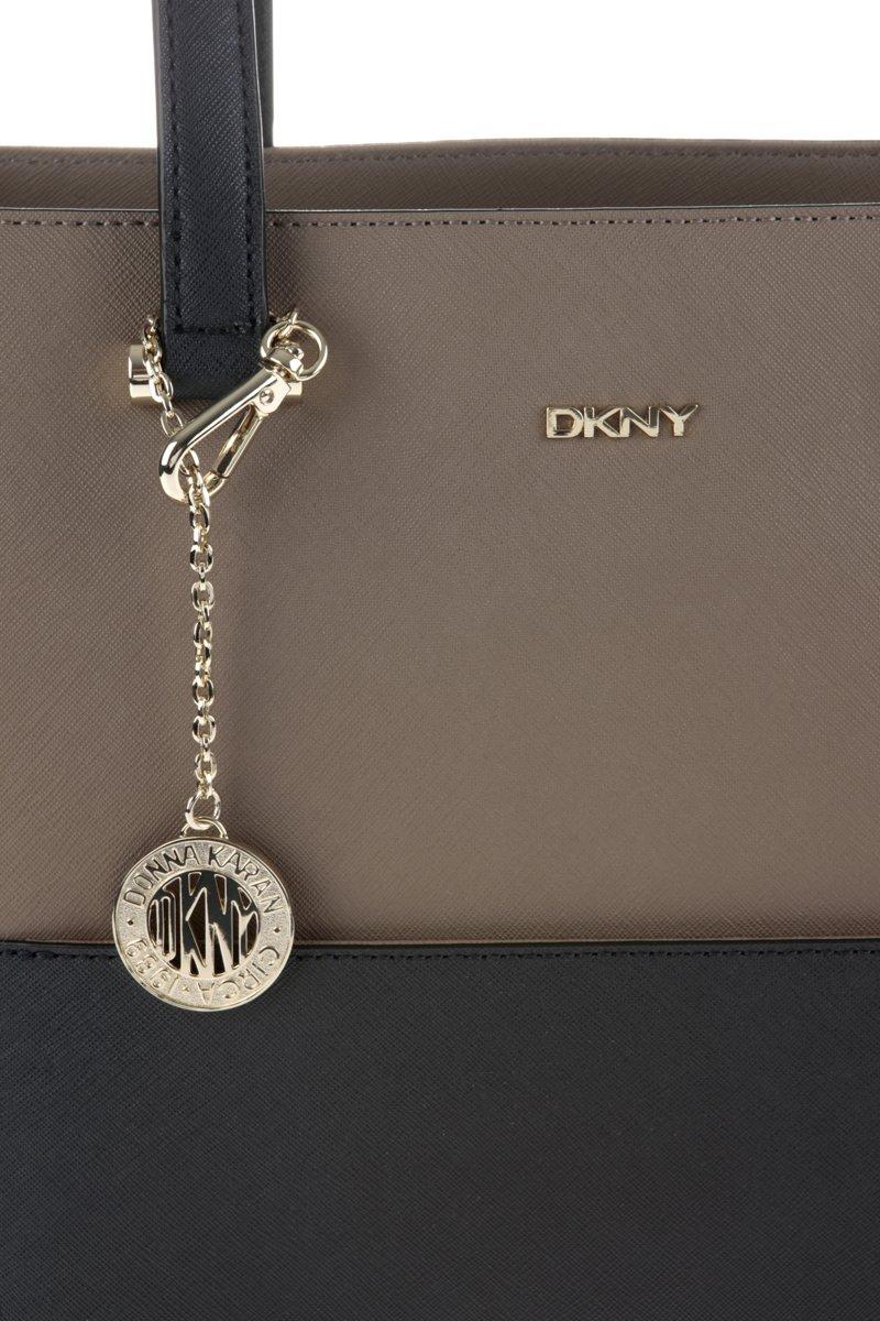 dc16a074796 bol.com | DKNY Bryant Park - Handtas - Bruin/Zwart