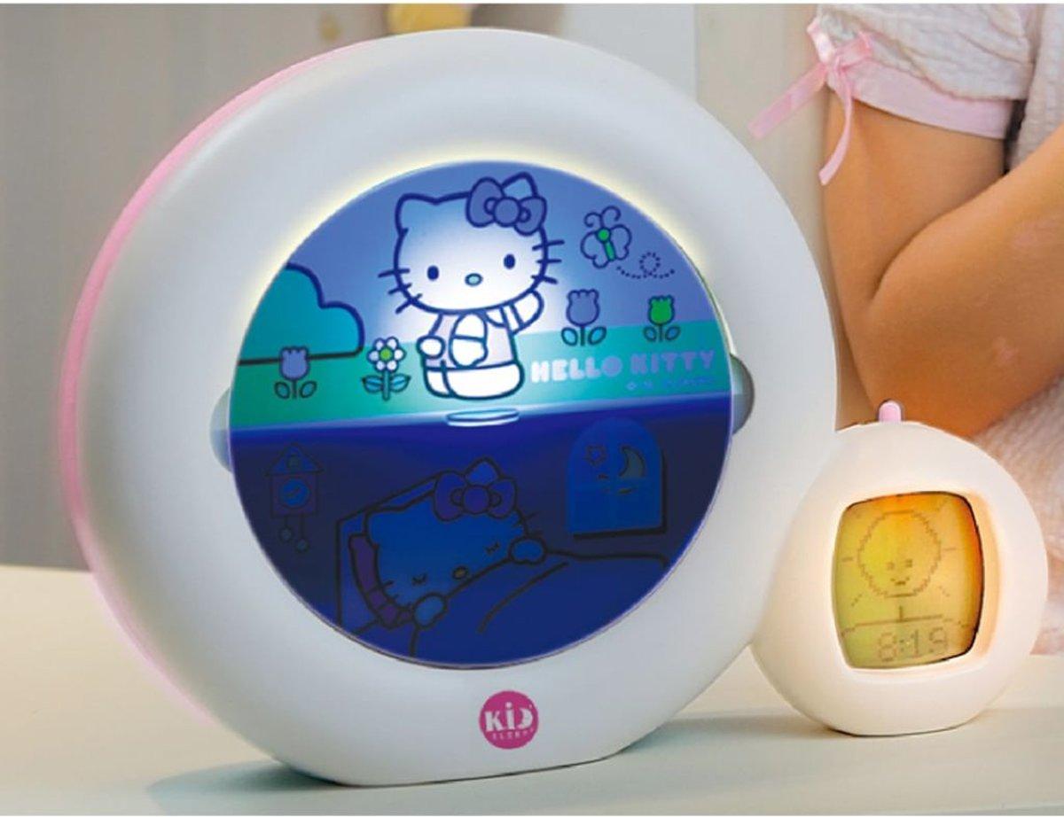 Kinderwekker Met Licht : Bol kid sleep kinderwekker moon hello kitty