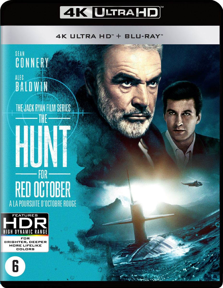 The Hunt For Red October (4K Ultra Hd Blu-ray)-