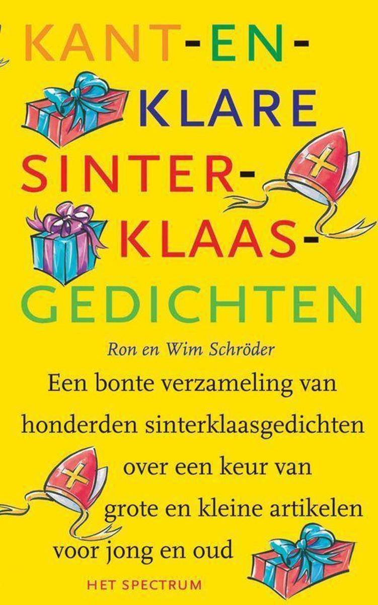 Bolcom Kant En Klare Sinterklaasgedichten Ron Schroder