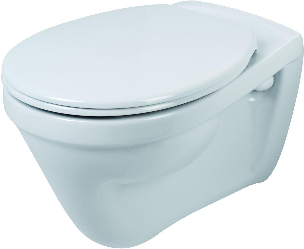 Vlakspoel Toilet Hangend : Bol plieger plano wandclosetpack wandcloset vlakspoel wit