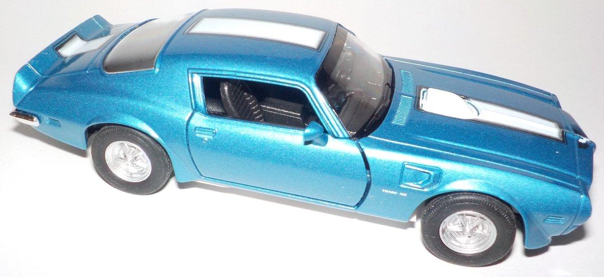 1972 PONTIAC FIREBIRD TRANS AM Welly 43735F blauw