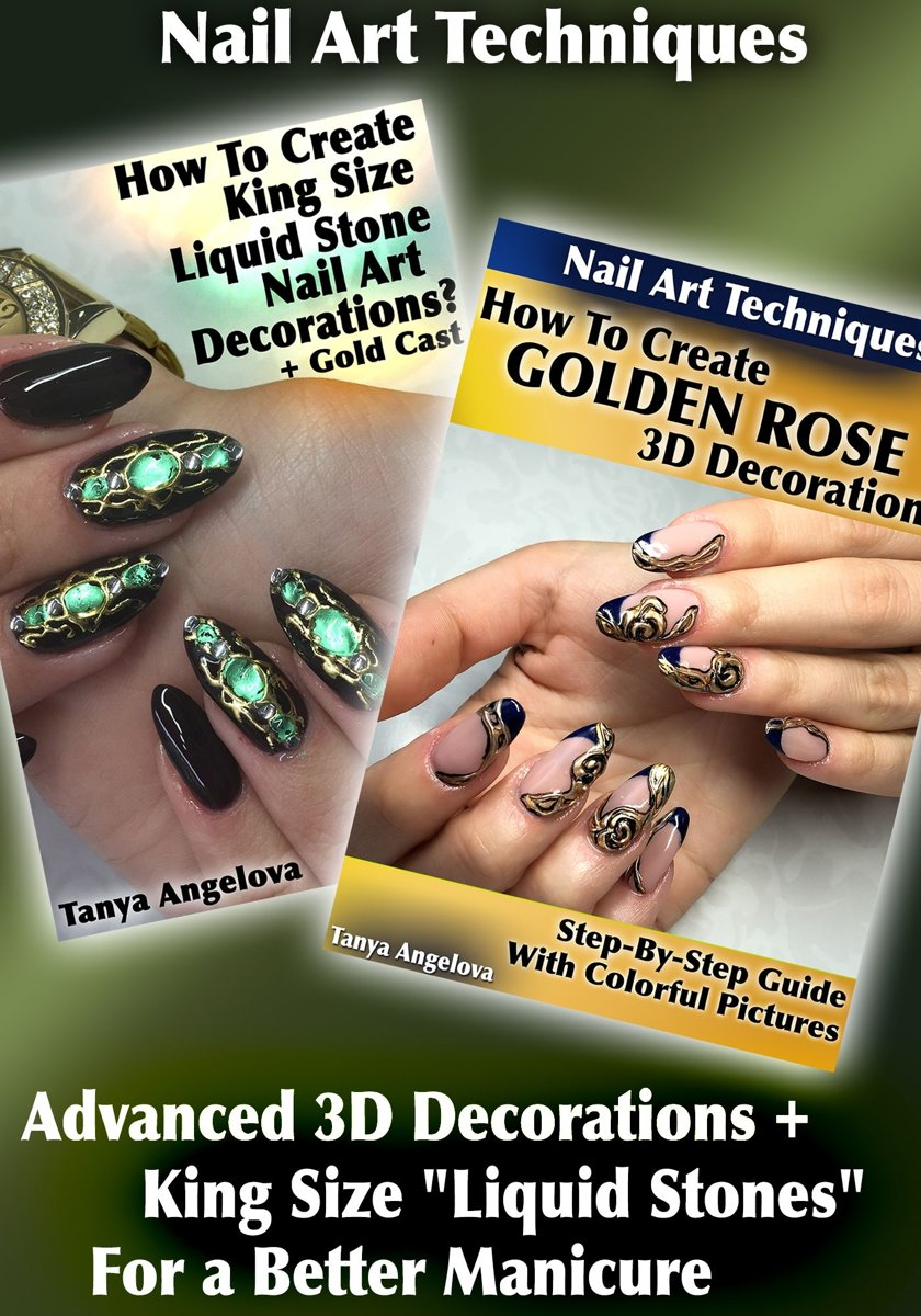 Bol Nail Art Techniques Advanced 3d Decorations King Size